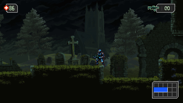 Castlevania feeling in The Mummy Demastered