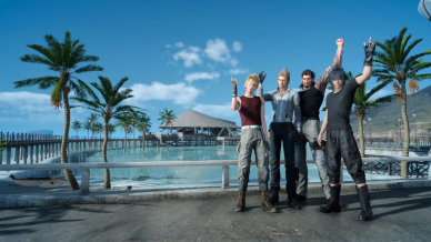 FFXV -Backstreets back alright