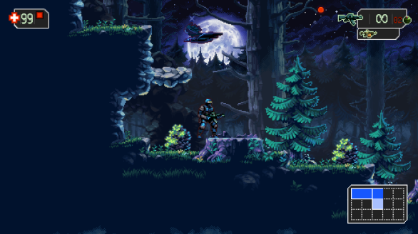 Gorgeous pixel graphics - The Mummy Demastered