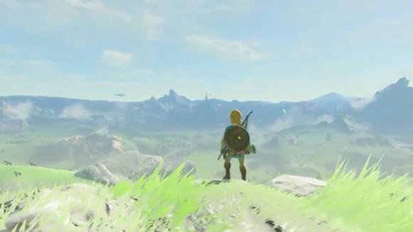 Zelda Breath of the Wild Link