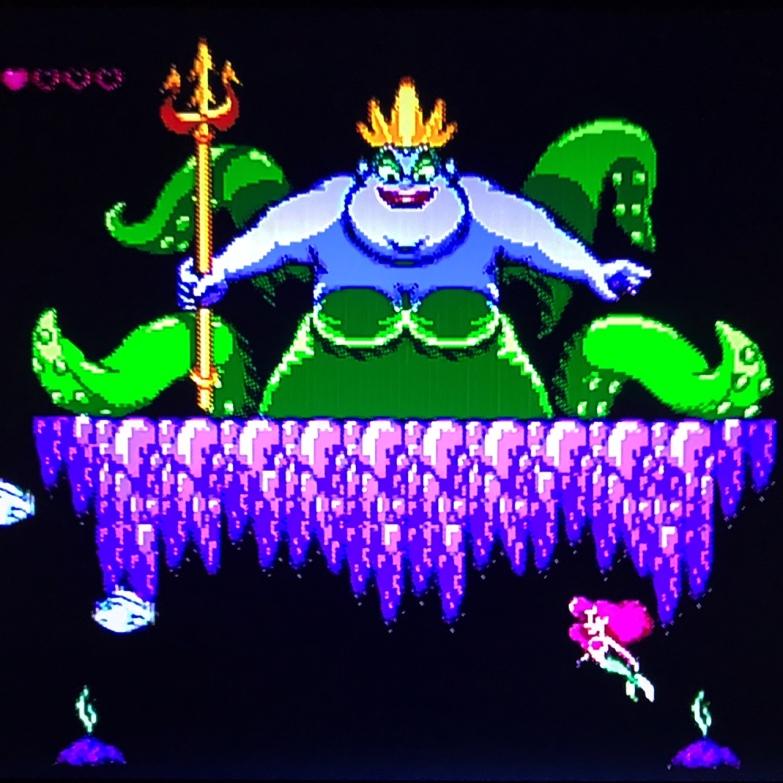 Famicom Ursula boss