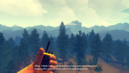 Xbox One Firewatch
