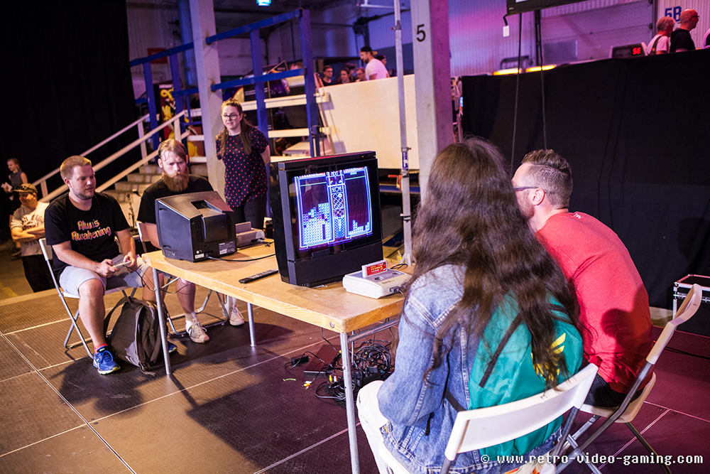 Super Tetris 3 competition at RSM 2018