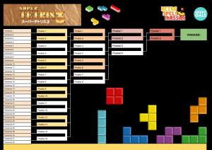 Super Tetris 3 scoreboard