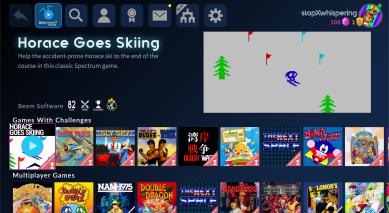 Antstream Arcade - Horace Goes Skiing