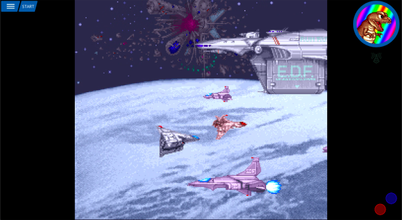 Anstream Arcade - E.D.F. Earth Defence Force Ending