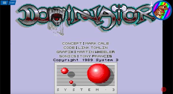 Antstream Arcade - Dominator Amiga